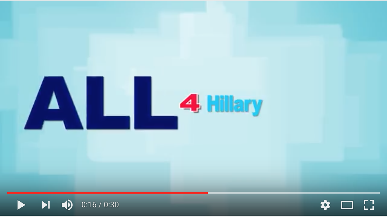 For Hillary Video